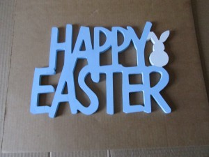 Happy Easter Sign 1