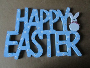 Happy Easter Sign 4