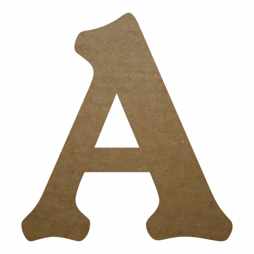 Wood Craft Letter (A) - KabarettD