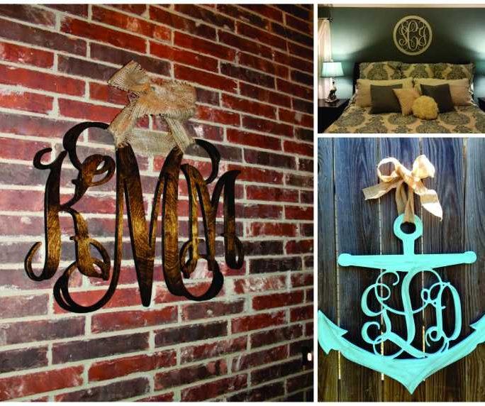 Wooden Monograms