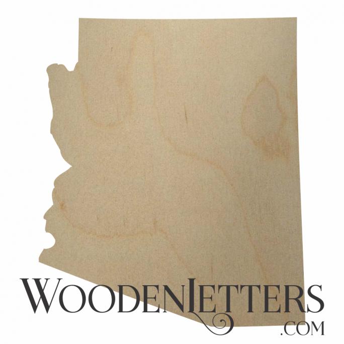 Arizona Wood Cutout